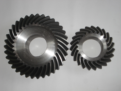 India customers purchase the Thermal Power and metallurgical industries spiral bevel gear