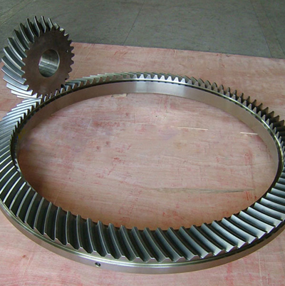 The outside diameter 3000mm mining, oil drilling and coal mining industries spiral bevel gear export