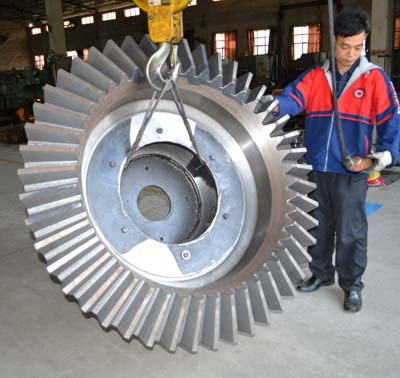 Straight bevel gear exported to Mozambique