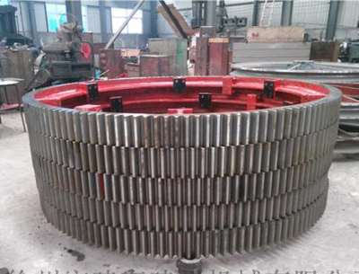 2200mm diameter of the large mill gear