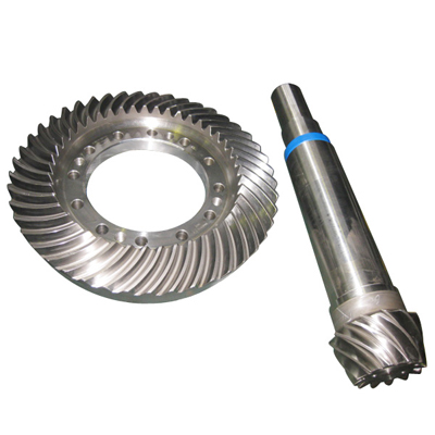 Outside diameter 1400mm cement industry spiral bevel gear