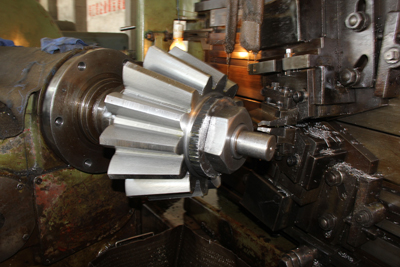 1100mm diameter of straight bevel gear