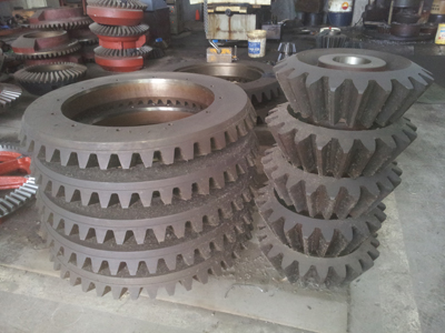 1500mm diameter of straight bevel gear