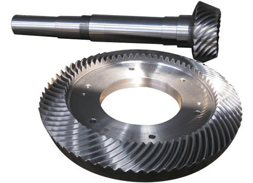 vertical mill reducer straight bevel gear