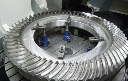 custom bevel gear for cement mill Or coal mill,bevel gear OEM&ODM in China